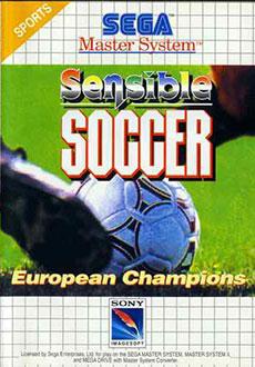 Carátula del juego Sensible Soccer (SMS)