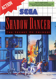 Portada de la descarga de Shadow Dancer