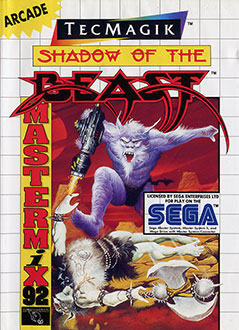 Carátula del juego Shadow of the Beast (SMS)