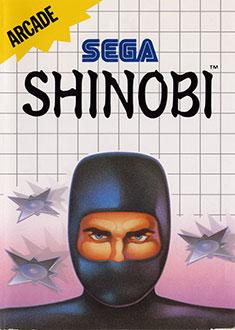 Carátula del juego Shinobi (SMS)