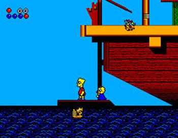 Imagen de la descarga de The Simpsons: Bart vs the World