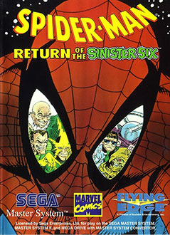 Carátula del juego Spider-Man Return of the Sinister Six (SMS)