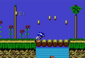 Imagen de la descarga de Sonic Blast