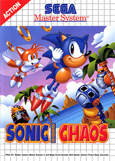 Juego online Sonic Chaos (SMS)