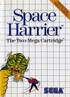 Carátula del juego Space Harrier (SMS)