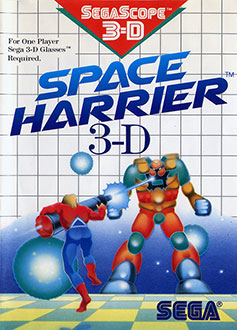 Juego online Space Harrier 3-D (SMS)