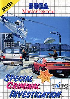 Carátula del juego Special Criminal Investigation (SMS)