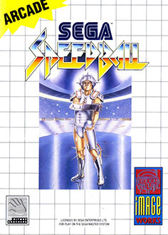 Carátula del juego Speedball (SMS)