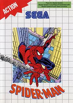 Carátula del juego Spider-Man (SMS)
