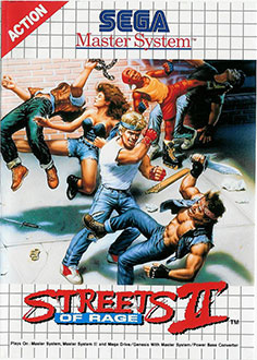 Juego online Streets of Rage 2 (SMS)