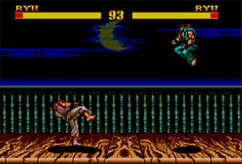 Pantallazo del juego online Street Fighter II (SMS)