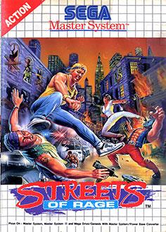 Carátula del juego Streets of Rage (SMS)