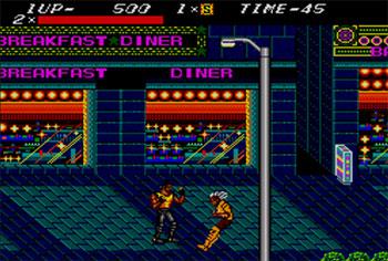 Pantallazo del juego online Streets of Rage (SMS)