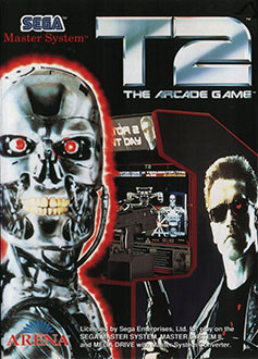 Portada de la descarga de T2: The Arcade Game