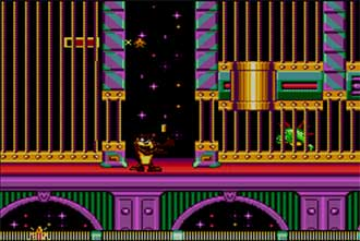 Pantallazo del juego online Taz in Escape from Mars (SMS)