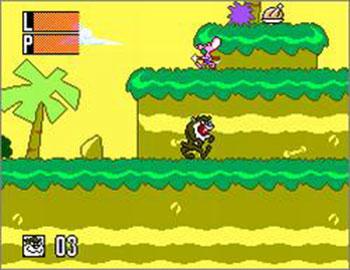Pantallazo del juego online Taz-Mania (SMS)