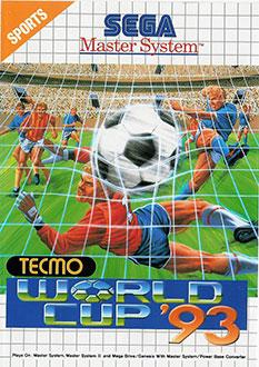 Carátula del juego Tecmo World Cup 93 (SMS)