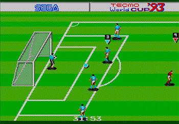 Pantallazo del juego online Tecmo World Cup 93 (SMS)