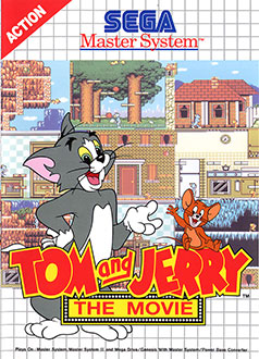 Carátula del juego Tom and Jerry The Movie (SMS)