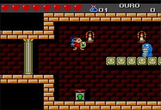 Pantallazo del juego online Turma da Monica em O resgate (SMS)
