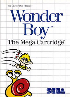 Portada de la descarga de Wonder Boy