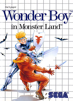 Portada de la descarga de Wonder Boy in Monster Land