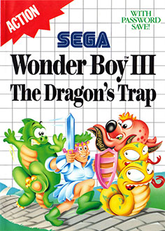 Juego online Wonder Boy III: The Dragon's Trap (SMS)