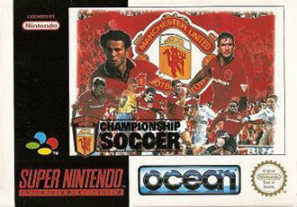 Juego online Manchester United Championship Soccer (SNES)