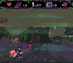 Pantallazo del juego online AAAHH Real Monsters (Snes)