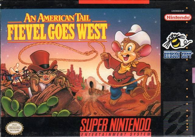 Portada de la descarga de An American Tail: Fievel Goes West