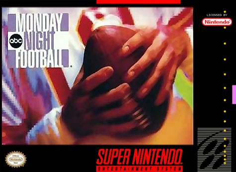 Carátula del juego ABC Monday Night Football (Snes)