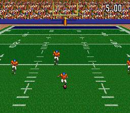 Pantallazo del juego online ABC Monday Night Football (Snes)