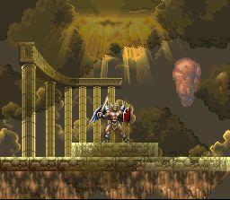 Pantallazo del juego online ActRaiser 2 (Snes)