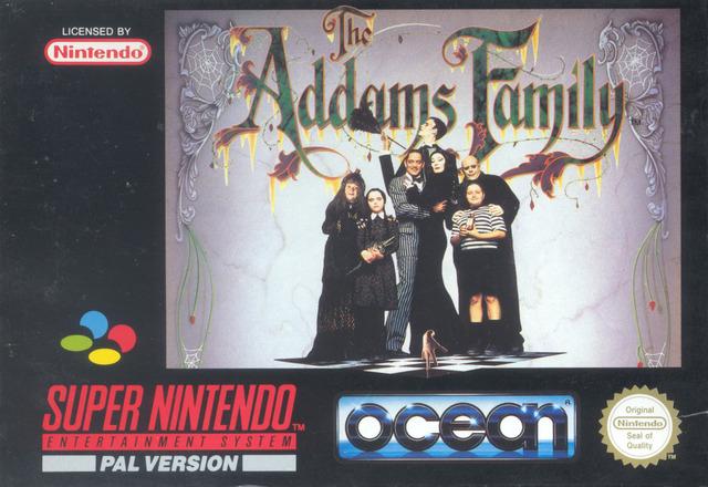 Carátula del juego The Addams Family (Snes)