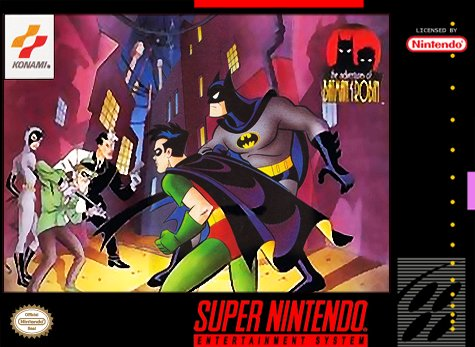 Carátula del juego The Adventures of Batman & Robin (Snes)