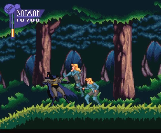 Pantallazo del juego online The Adventures of Batman & Robin (Snes)