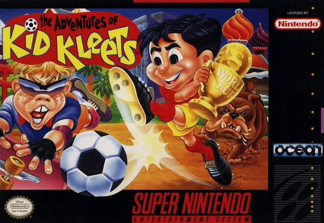 Carátula del juego The Adventures of Kid Kleets (Snes)
