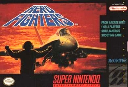Carátula del juego Aero Fighters (Snes)