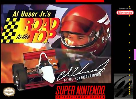 Carátula del juego Al Unser Jr's Road to the Top (Snes)
