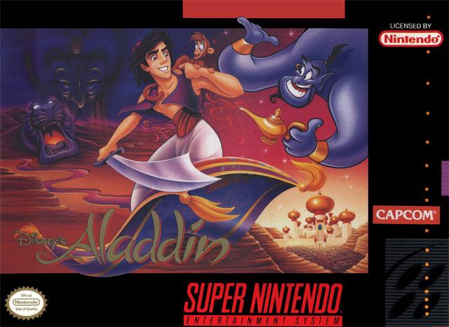 Carátula del juego Aladdin (Snes)