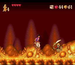 Pantallazo del juego online Aladdin (Snes)