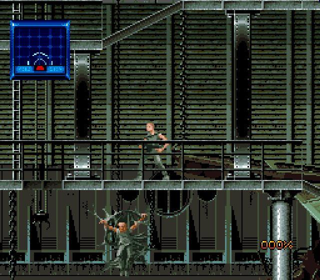 Pantallazo del juego online Alien 3 (Snes)