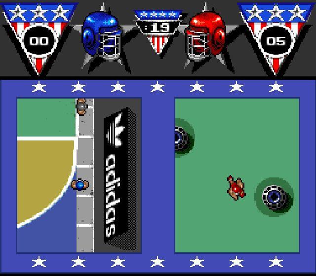 Pantallazo del juego online American Gladiators (Snes)