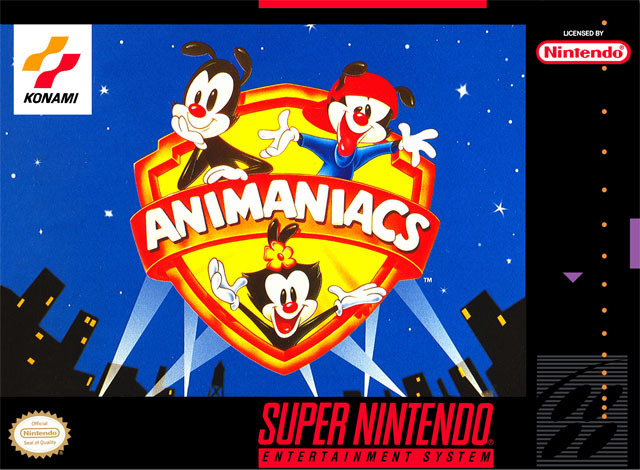 Portada de la descarga de Animaniacs