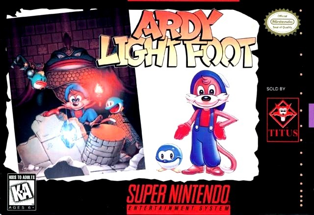 Portada de la descarga de Ardy Light Foot