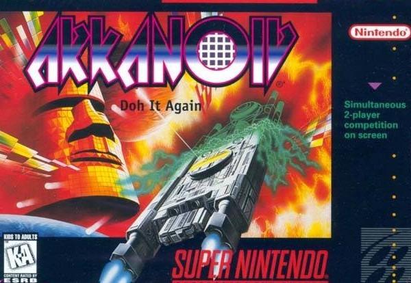 Portada de la descarga de Arkanoid – Doh it Again