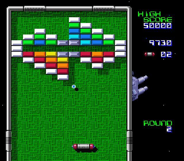 Pantallazo del juego online Arkanoid - Doh it Again (Snes)