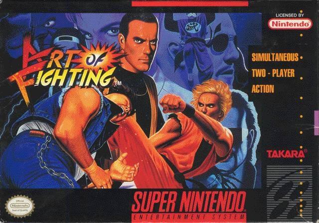 Portada de la descarga de Art Of Fighting