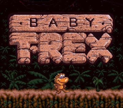 Portada de la descarga de Baby T-Rex Sample Game