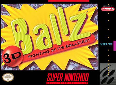 Carátula del juego Ballz 3D (Snes)